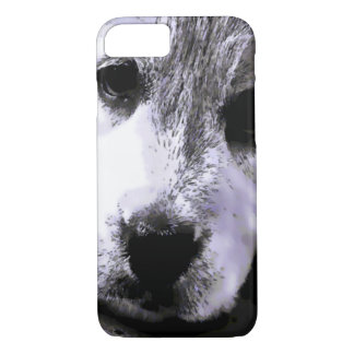 Watercolor Puppy Dog Eyes iPhone 7 Case