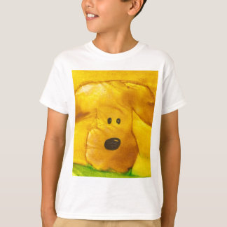 Watercolor Puppy Kids T-shirt