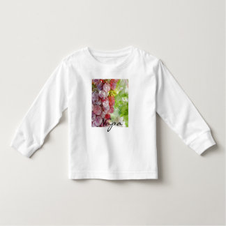 Watercolor Purple Grapes from Napa Valley. Toddler T-shirt