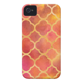 Watercolor Quatrefoil Case-Mate iPhone 4 Case