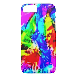Watercolor Rainbow Abstract iPhone 7 Case