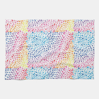 Watercolor Rainbow Kitchen Towel