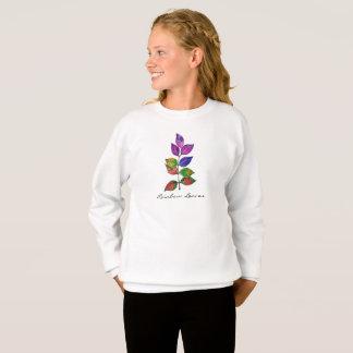 Watercolor Rainbow Leaves Sweatshirt