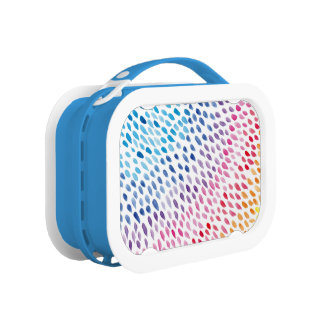 Watercolor Rainbow Lunch Box