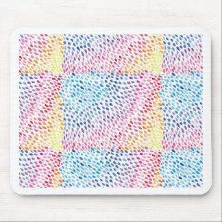 Watercolor Rainbow Mouse Pad