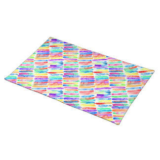 Watercolor Rainbow Placemat