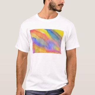 Watercolor Rainbow Slide T-Shirt