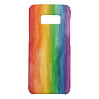 Watercolor Rainbow Stripes Case-Mate Samsung Galaxy S8 Case