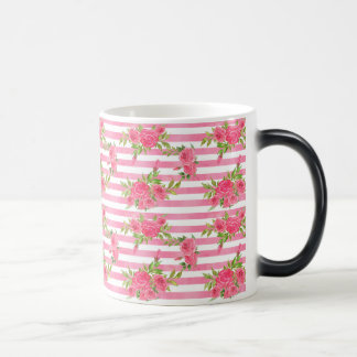 Watercolor Red Roses Magic Mug