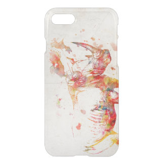 Watercolor Rhino Painting iPhone 8/7 Case