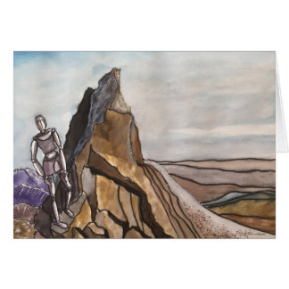 WATERCOLOR   ROCKY MOUNTAIN SUMMIT CARD