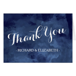 Watercolor Romance Thank You Cards