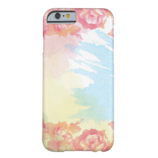 Watercolor Rose iPhone 6/6s Barely There iPhone 6 Case