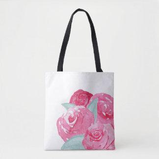Watercolor Roses Bag