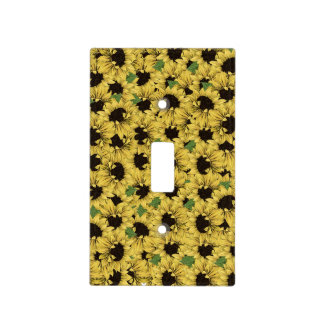 Watercolor Rustic Sunflowers  Outlet Switch Covers