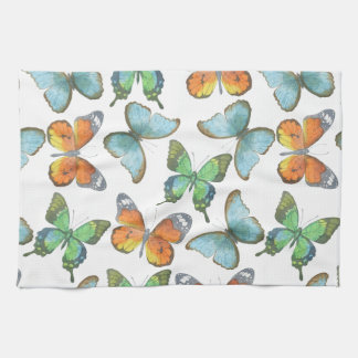 Watercolor Safari: Butterflies Towels