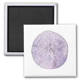 Watercolor Sand Dollar Magnet