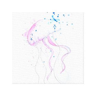 Watercolor Sea Canvas Print