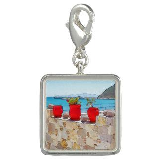 Watercolor sea view charm
