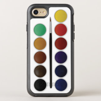 Watercolor Set OtterBox Symmetry iPhone 8/7 Case
