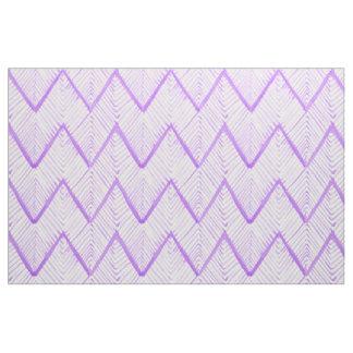 Watercolor Shibori Primitive Zig Zag Coordinate Fabric