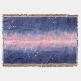 Watercolor Space blanket