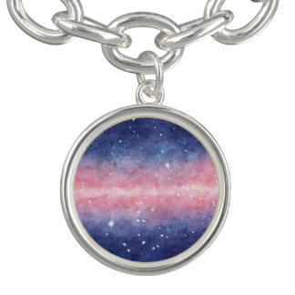 Watercolor Space charm