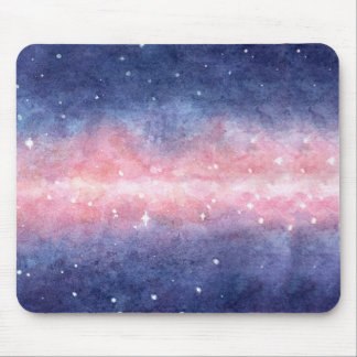 Watercolor Space Mousepad