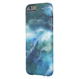 Watercolor Space Nebula Galaxy Barely There iPhone 6 Case