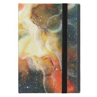 Watercolor Space Nebula Galaxy iPad Mini Case