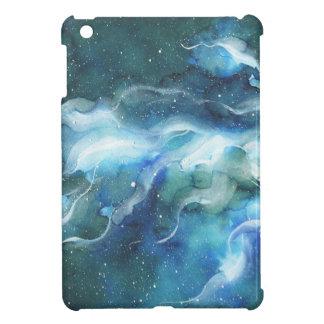 Watercolor Space Nebula Galaxy iPad Mini Cover