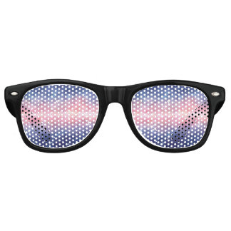 Watercolor Space Party Shades Sunglasses