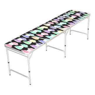 Watercolor Splash! Beer Pong Table