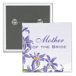 Watercolor Spring Flowers Mother of the Bride