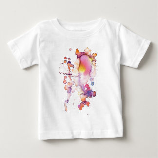watercolor stains add your text baby T-Shirt