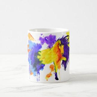 Watercolor Stallion Horse Mug