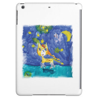 Watercolor Starry Night Pegasus with Bat Case For iPad Air