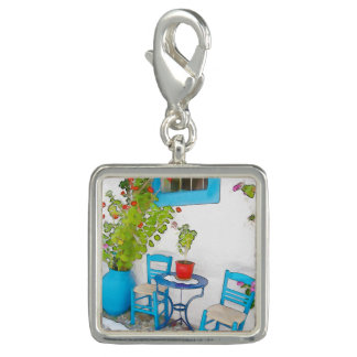 Watercolor street view charm