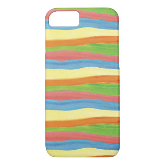 Watercolor Stripes Case