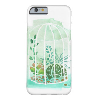 Watercolor Succulent Terrarium iphone 6/6s Case