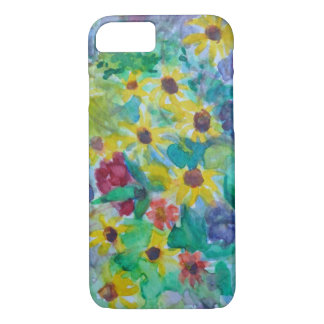 Watercolor Sunflowers iPhone 7 Case
