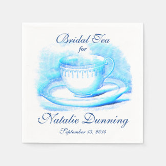 Watercolor Teacup Paper Napkins