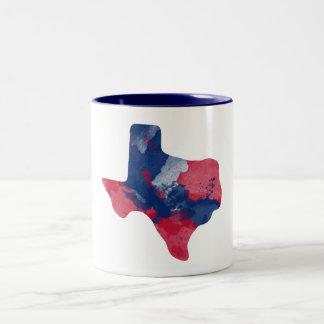 Watercolor Texas Mug