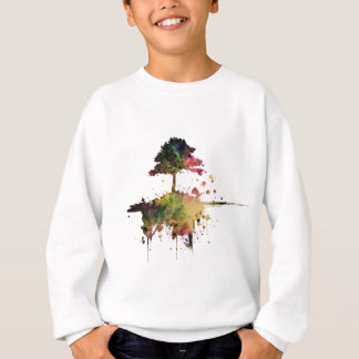 Watercolor Tree Sweatshirt