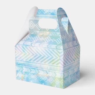 Watercolor Tribal Chic Geometric Favor Box