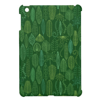 Watercolor Tropical Leaves Cover For The iPad Mini