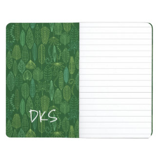 Watercolor Tropical Leaves | Monogram Journals