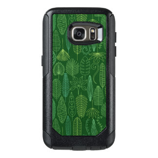 Watercolor Tropical Leaves OtterBox Samsung Galaxy S7 Case