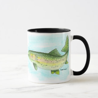 Watercolor Trout Mug