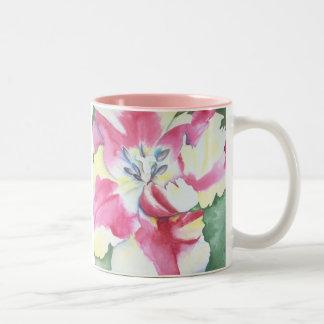 Watercolor Tulip Mug